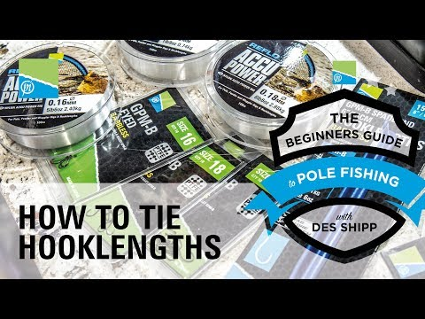 How To Tie Banded Hooklengths | The Beginners Guide To Pole Fishing With Des Shipp