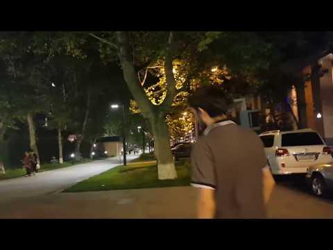 Вечерний Ереван/улица Бузанда/ресторан 4 Seasons