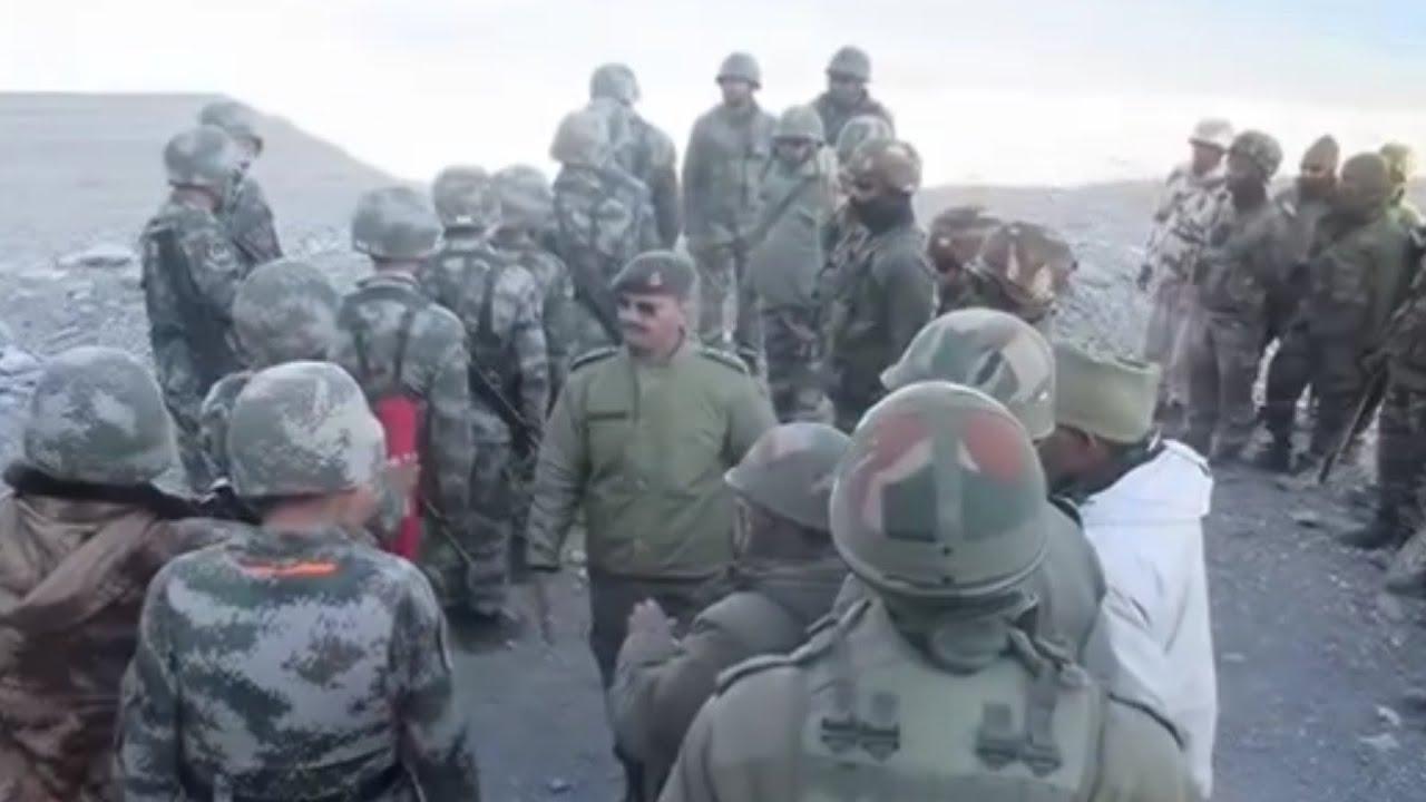INDIA VS CHINA! video amatir detik detik tentara CHINA memasuki wilayah LADAKH perbatasan INDIA
