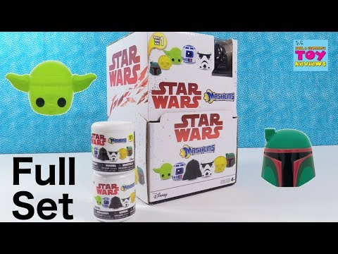 Star Wars Mashems Disney Squishy Series 1 Blind Bag Toy Review   PSToyReviews