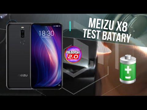 🔋 Meizu X8 Тест Батареи от 100% до 0% в YouTube | ОБЗОРЫ 2.0
