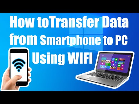 Best Android Mobile tips and tricks : Transfer smartphone data over WiFi