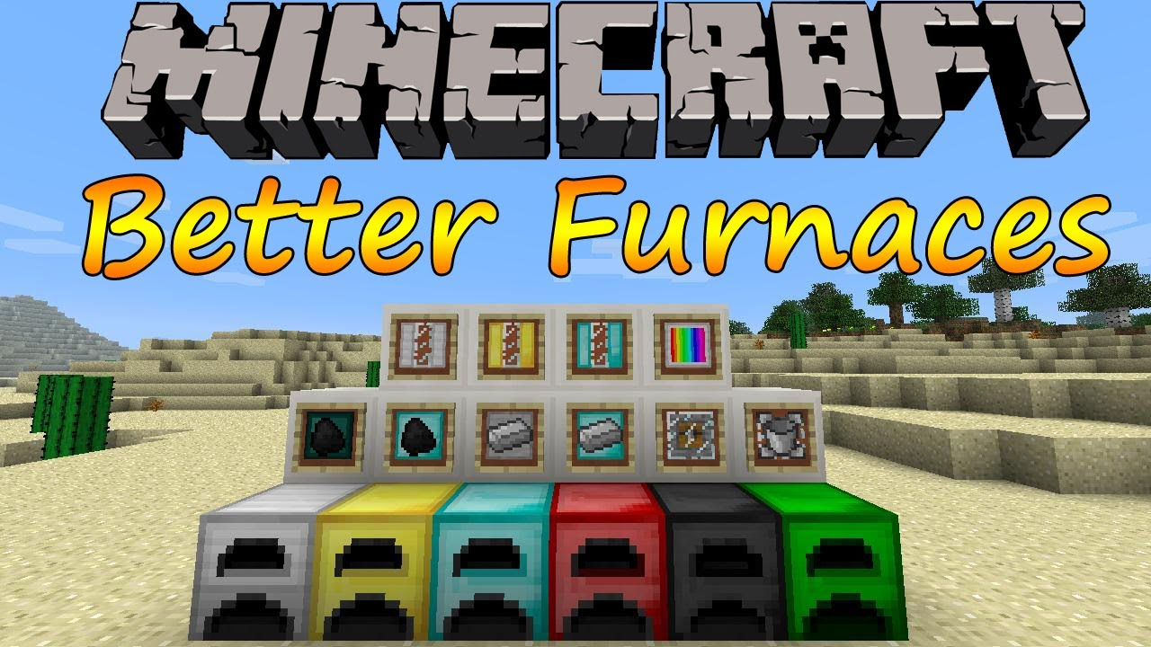 Minecraft 1.6.2 - Better Furnaces / Espaol - YouTube