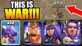 Clash Of Clans - 1 CHANCE TO GET THE PERFECT CLAN WAR!!