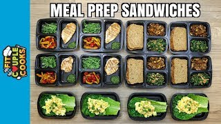 How to Meal Prep - Ep. 70 - Healthy Sandwiches to Kickstart 2018 (Vegan Option) thumbnail