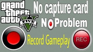 Without Capture Card! How to Record HD GTA V Gameplay with Bandicam!!