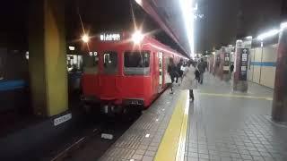名鉄100系 上小田井行 伏見駅発車