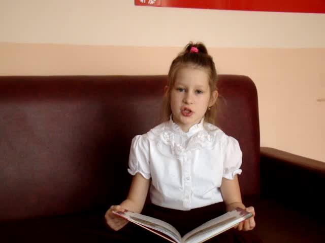 Изображение предпросмотра прочтения – КузьминыхКсения читает произведение «Мартышка и очки» И.А.Крылова