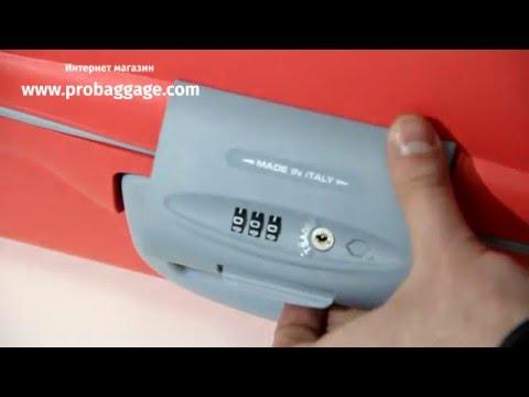 Roncato Light | Инструкция к замку - Как выставить замок TSA на чемодане Roncato Light