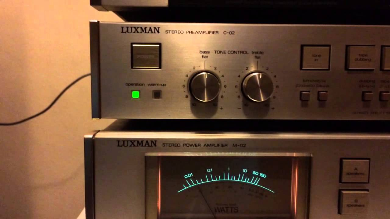 Luxman M 02 C 02 Infinity Rs4 Youtube