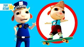 New 3D Cartoon For Kids ¦ Dolly And Friends ¦ Johny Police Jail Playhouse Toy #146