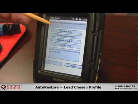 Resetting The Psion Xt15 - YT