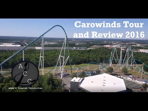Carowinds Tour and Review 2016