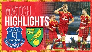 HIGHLIGHTS | Everton 0-2 Norwich City | Cantwell And Srbeny On Target In Merseyside!