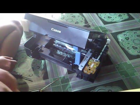 How Disassemble Printer Canon Mp237 Cara Membongkar Printer Canon
