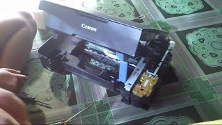 How Disassemble Printer Canon MP237 - Cara Membongkar Printer Canon MP237