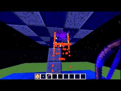 Minecraft only one command block portal gun youtube