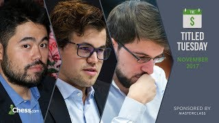Titled Tuesday: Magnus Carlsen Puts On A Blitz Chess Show!