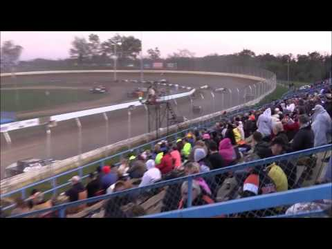 American Modified Series Heat #1 from Florence Speedway, October 22nd, 2016.