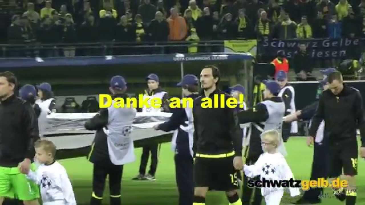 Dortmund - Real Madrid - Ein Danke an alle Spieler und BVB-Fans