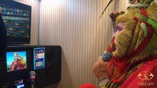 Tôn ngộ không lén đi hát Karaoke |Cực hót 2018