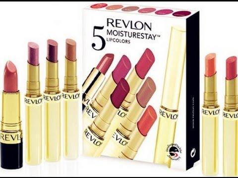 PRODUCT REVIEW : Revlon 5 Moisturestay Lipcolors