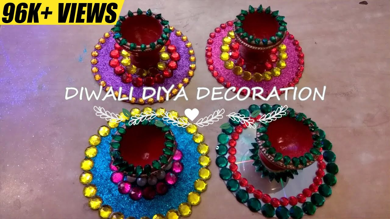 DIY Diwali Home Decoration Ideas How to Decorate Diwali Diyas