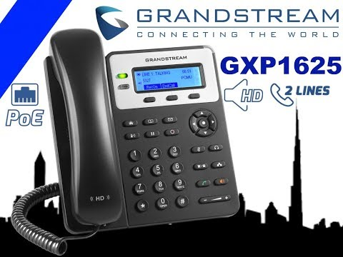 Grandstream GXP1625 VoIP Phone Dubai - IP Telephone for Busi