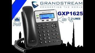 Grandstream GXP1625 VoIP Phone Dubai - IP Telephone for Business