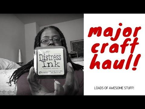 Super Major Awesome Craft Haul...sort of