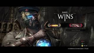 Mortal Kombat X online Kano vs Liu Kang MK11 amanhã live