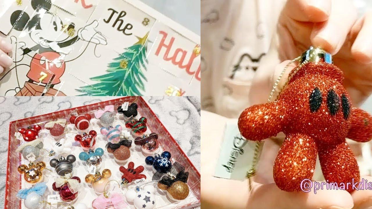 Unboxing Primark Disney Christmas Bauble Advent Calendar 2018
