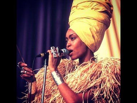 Dj Lo Down Loretta Brown aka Erikah Badu Live @Wanderlust Paris