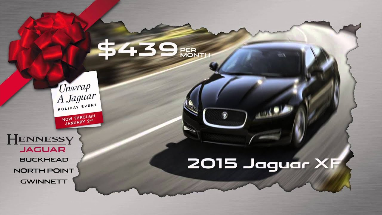 HENNESSY JAGUAR SPECIAL LEASE OFFER DECMEBER 2014