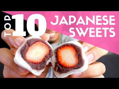 TOP 10 Japanese Sweets At Department Store | Hikarie