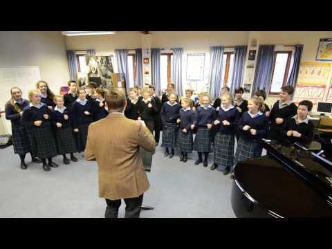 Gresham's School flashmob rehearsal.