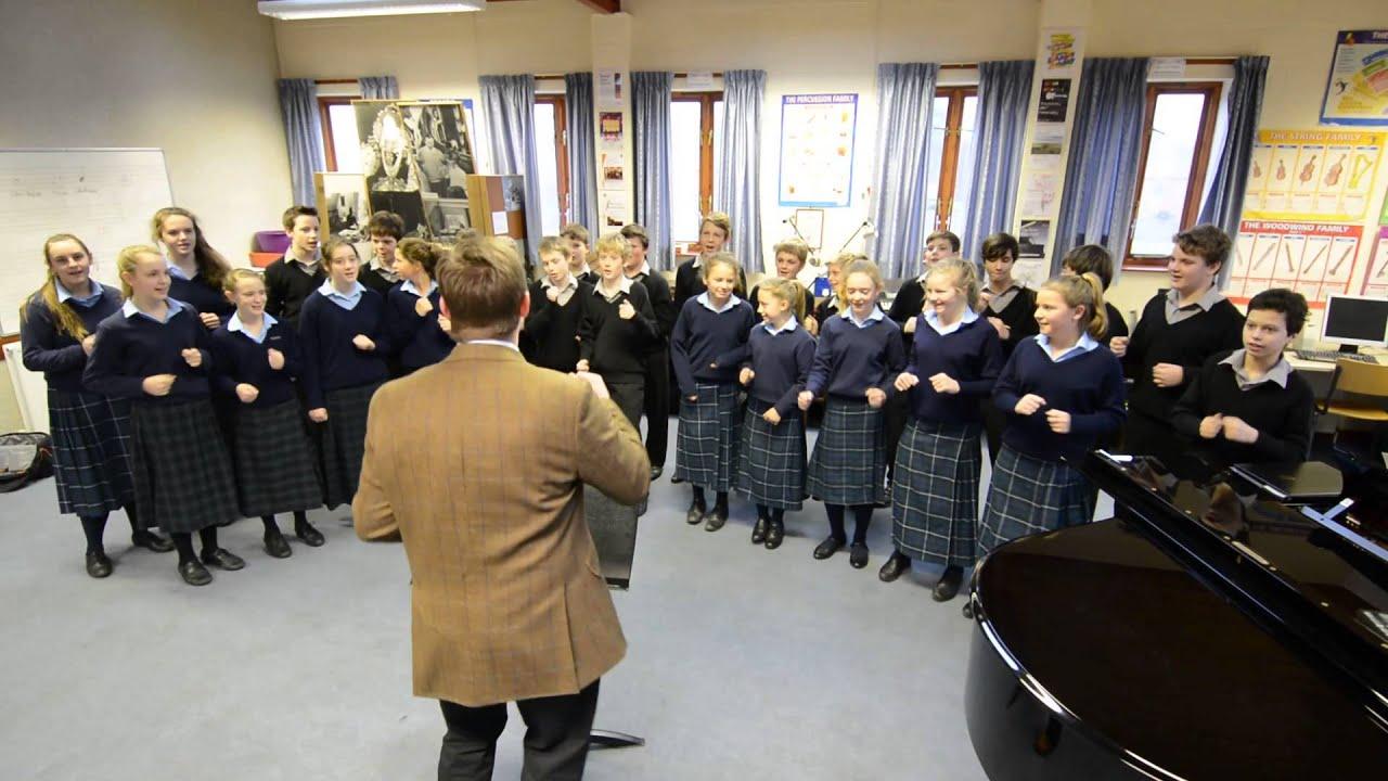 Gresham's School flashmob rehearsal. - YouTube