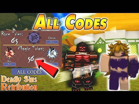 Seven Deadly Sins Roblox Codes 2020 All Codes Deadly Sins Retribution Youtube