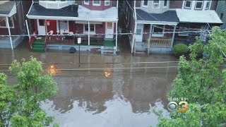 Water Main Break Causes Mess In Trenton