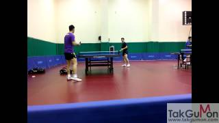 ma long and fan zhendong training busan part 1