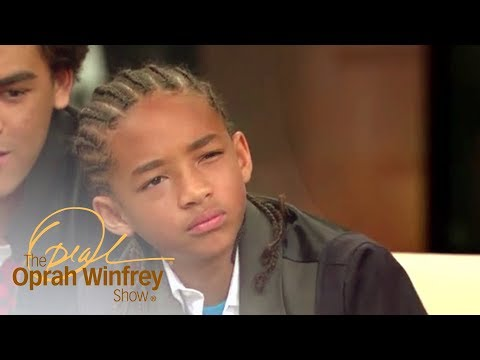 Jaden Smith Says His First Onscreen Kiss Was No Big Deal   The Oprah Winfrey Show   OWN