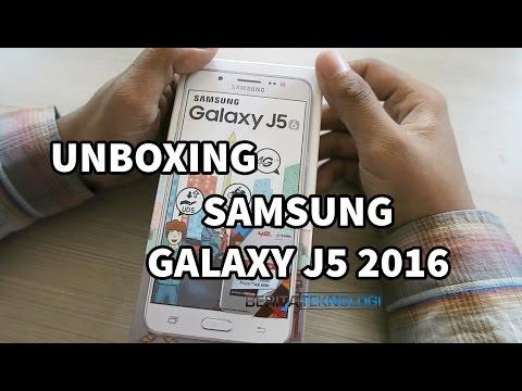 Unboxing Samsung Galaxy J5 2016 Indonesia & Cek Bodi