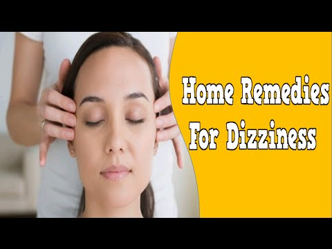 Home Remedies For Dizziness, Dizziness While Lying Down, Natural Remedies For Dizziness And Balance
