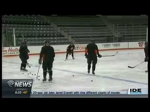 RIT on TV: Tigers Hockey gets ready for tough Homecoming game - on TWC