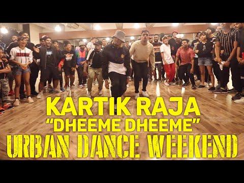 """kartik-raja-choreo-""""dheeme-dheeme""""-at-urban-dance-weekend"""