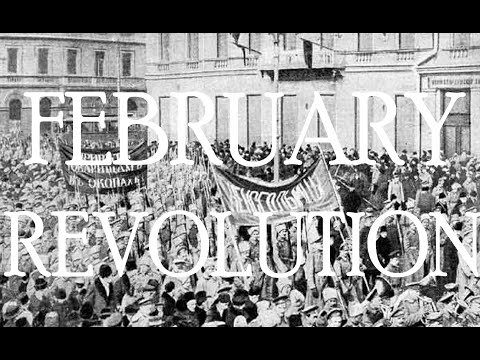 Timeline of the February/March Revolution in Russia (1917)