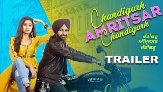 Chandigarh Amritsar Chandigarh | Trailer | Gippy Grewal | Sargun Mehta | New Punjabi Movies | Gabruu