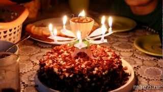 видео Свечи для торта, 12 шт 8 см