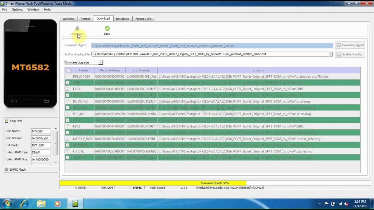 Alcatel OT-216 Tools Videos - Waoweo