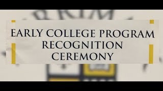 ALA Early College Ceremony